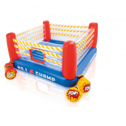 Intex - Jump-o-Lene™ Boxing Ring Bouncer Ages 5-7 , 2.26 m x 2.26 m x 1.1 m