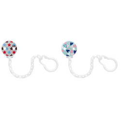 NUK Soother Chain - Assorted
