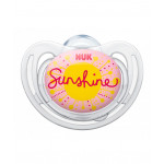 Nuk Silicone Soother Free Style Stage 1 (0-6 months), Different Models