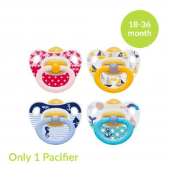 NUK Latex Soother Happy Kids Stage 3, Assorted Models