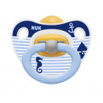 Nuk Latex Happy Kids Soother (0-6 months), Assorted Models