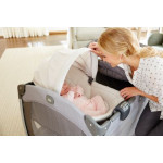 Graco Pack 'n Play Newborn Napper Oasis Playard with Soothe Surround, Davis
