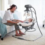 Graco Duet Soother Swing/ Rocker, Winslet