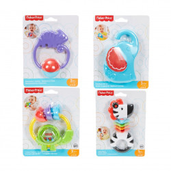Fisher-Price +3 months Sounds Teether, Assorted Models ( 1 Pack )