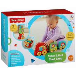 Fisher-Price Stack & Roll Choo Choo
