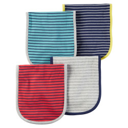 Carter's - Burb cloths 4-Pack