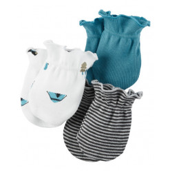 Carter's - Mittens 3-pack