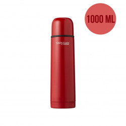 ThermoCafé by Thermos Stainless Steel Flask, 1000ml, Red