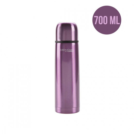 ThermoCafé by Thermos Stainless Steel Flask, 700ml, Purple