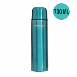 ThermoCafé by Thermos Stainless Steel Flask, 700ml, Blue