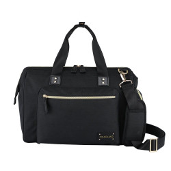 Colorland Diaper Bag Tote - Black
