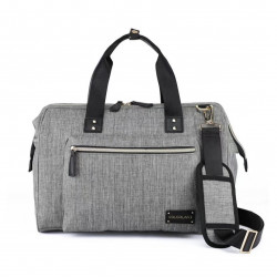 Colorland Diaper Bag Tote - Grey