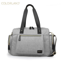 Colorland Large Capacity Maternity Mummy Bags, Grey