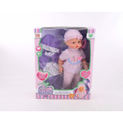 Baby Habibi Active Grow Up Baby Doll English Only