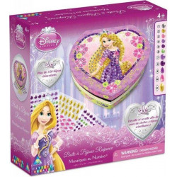 Disney Princess Sticky Mosaics - Rapunzel Heart Jewelry Box