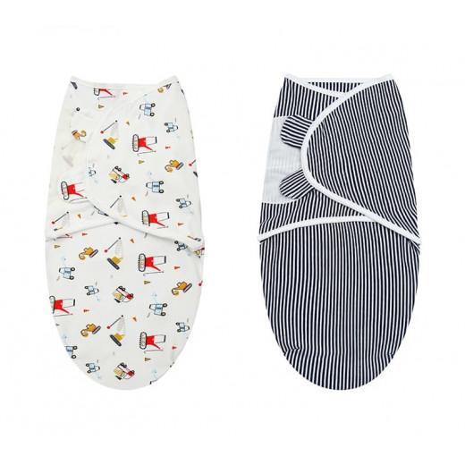 Colorland - (1) Adjustable Infant Wrap(3.2-6.4kg) 2 Pieces Per Pack