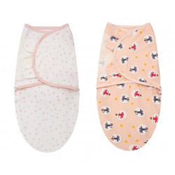 Colorland - (3) Adjutable Infant Wrap 2 Pieces Per Pack
