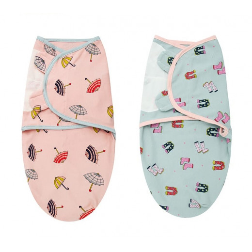 Colorland - (4) Adjustable Infant Wrap 2 Pieces Per Pack