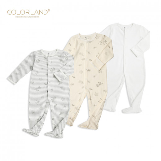 Colorland - Baby Romper Colorland Unicorn 3 Pieces In One Pack