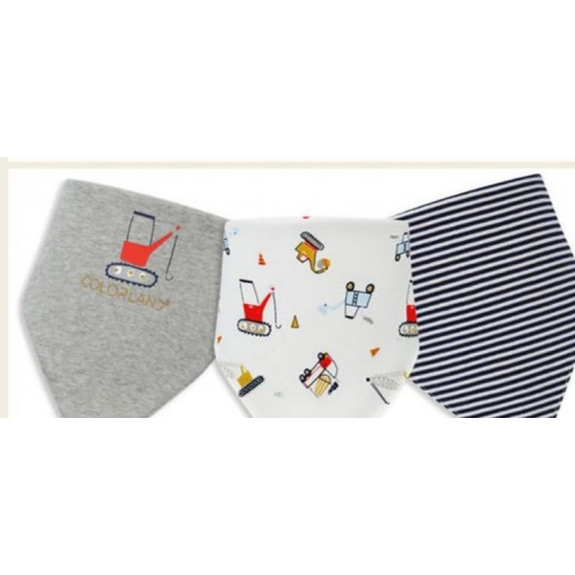 Colorland - (1) Baby Bibs 3 Pieces In One Pack