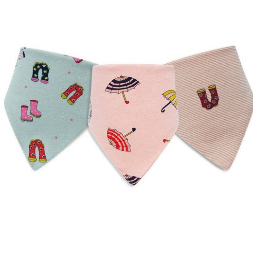Colorland - (4) Baby Bibs 3 Pieces In One Pack