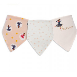 Colorland - (5) Baby Bibs 3 Pieces In One Pack