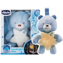 Chicco Toy First Dreams Goodnight Bear - Blue