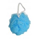 Calypso Bath Flower Body Sponge with Hanging Loop, Assorted Colors