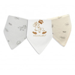 Colorland - (7) Baby Bibs 3 Pieces In One Pack