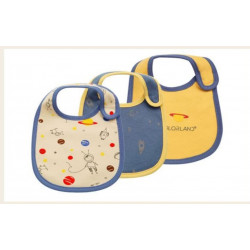 Colorland - (11) Baby Bibs 3 Pieces In One Pack