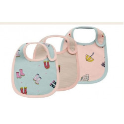 Colorland - (13) Baby Bibs 3 Pieces In One Pack