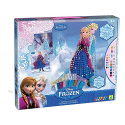 Disney Frozen Sticky Mosaics - Anna & Elsa Original Kit