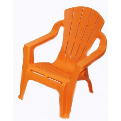 Mini Selva Kids Stack Chair Armchair Orange