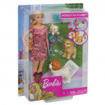 Barbie Doggy Daycare™ Doll & Pets