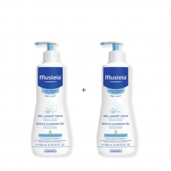 Mustela Soap-free Cleansing Gel Hair and Body Package
