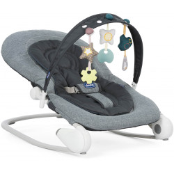 Chicco Baby Hoopla Bouncer, Dark Grey