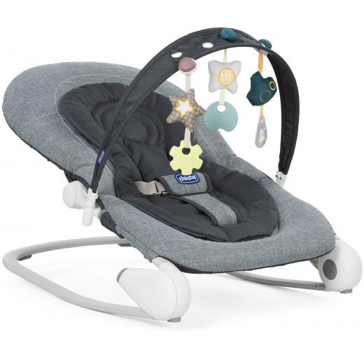 Chicco Baby Hoopla Bouncer, Dark Grey