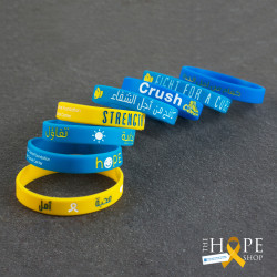 Wristbands With Encouraging Words - Hope Shop By KHCF