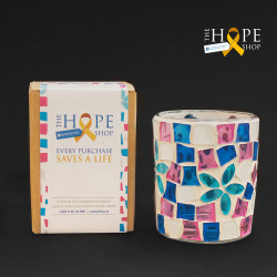 Colorful Candle Holder  - Hope Shop By KHCF