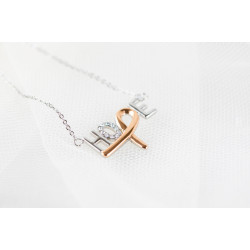 Hope Shop By KHCF - Hope Necklace - Silver And Plated Gold