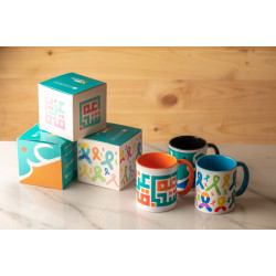 Hope Shop By KHCF - Colorful Mugs With Various Design