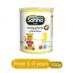 Nutridar Sahha 3 Growing-Up Formula - 1-3 years - 900g