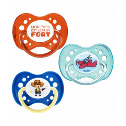 Dodie Symmetric Soother Silicone +18 Months, Assorted Colors