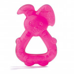Dodie Refrigerated Teething Ring, Pink Bunny