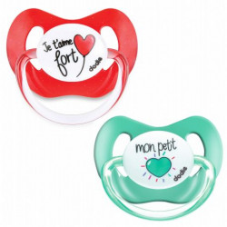 Dodie Pacifier & Soother +6 months, Different Colors, X1