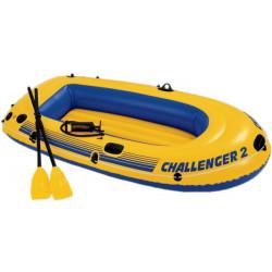Intex - Challenger TM 2 Boat Sets (with 59623, 68612) 233 cm x 113 cm x 40 cm