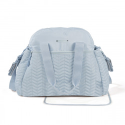 Pasito a Pasito Pasito Furs Blue Nappy Bag with Changing Mat