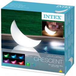 Intex -LED Floating Crescent Light 135 cm x 43 cm x 89 cm