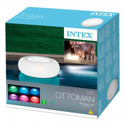 Intex -LED Floating Ottoman Light , 86 cm x 33 cm