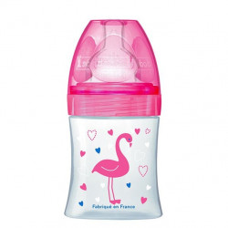 Dodie Bottle Sensation+ 150ml Debit 1, Pink Flamingo